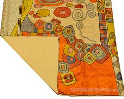 klimt rugs abstract wall hangings accent c blue