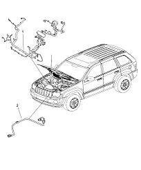 2008 jeep mander wiring headl to dash