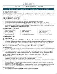 Marketing Director Resume Examples 5 Example Techtrontechnologies Com