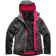 Size Chart For North Face Osito Jacket The North Face Womens Osito Triclimate Jacket