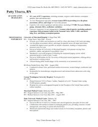 Best Nurse Resume 9 Objective Examples For Nursing Cover Letter Best