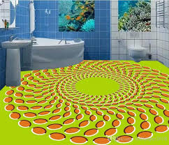pvc vinyl flooring bathroom 3d fashion creative circular moving three dimensional floor self adhesive wallpaper wallpaper for desktop wallpaper for desktop
