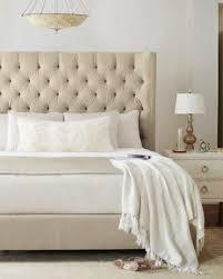 Diamond Tufted Queen Bed