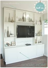 Diy Built In Storage Built In Tv Cabinet Idea For Corner Built In For Tvno Arches