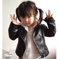 whole manteau fille direct ing time limited 2018 autumn brand leather jacket toddler baby coat girl kids infantil menina clothing direct from