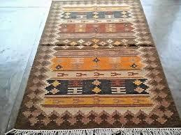 hand woven wool rug turkish kilim dhurrie persian oriental area rug 4 x6 ft