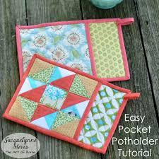 Quilted Potholder Patterns Magnificent Design Ideas