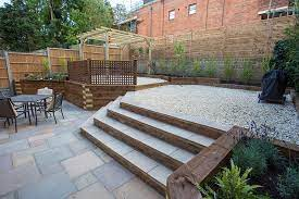 garden decking ideas r j landscapes