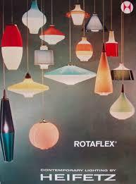 mid century lighting heifetz advertisement lamp light chandelier pendant retro