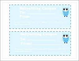 Free Babysitting Coupon Template Great 8 Best Of Printable