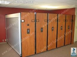 office storage solution. high density shelving is a commercial office storage solution that provide security