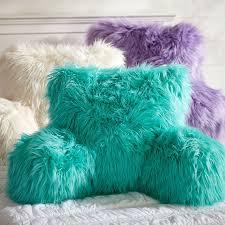 Fur rific Faux Fur Lounge Around Pillow Cover