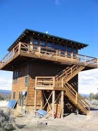 Lookout Tower Plans Gallery Forest Fire Lookout Tower House Small House Bliss