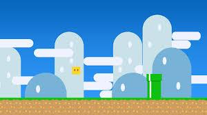 Super Mario Game Lovers Gamers Minimalist
