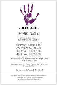 50 50 raffle sign template 50 50 raffle poster the other theatre company pinterest