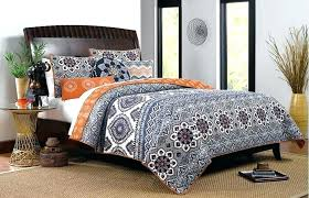 cozy design orange and grey comforter light blue gray brown bedding sets