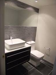 modern guest bathroom design. modern masculine half bath modern-bathroom guest bathroom design o