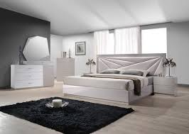 Modern White Bedroom Set   ModernFurniture Collection