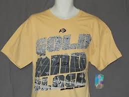 Details About New University Of Colorado Boulder Buffaloes Football T Shirt Mens Top Size L Xl