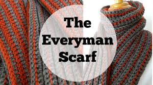 Free Mens Crochet Scarf Pattern Fascinating Episode 48 How To Crochet The Every Man Scarf YouTube