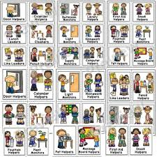 Classroom Helpers Pocket Chart Classroom Jobs Pocket Chart Labels
