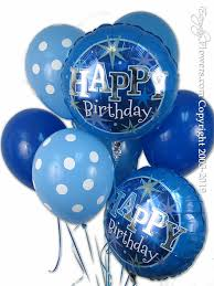 Image result for birthday balloons and flowers