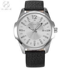 high quality x men watches promotion shop for high quality agentx stainless steel white dial silver case black leather band analog auto date quartz men business casual watch agx031