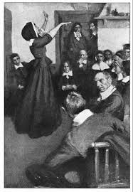 ideas about anne hutchinson on pinterest   massachusetts bay     quot anne hutchinson preaching in her house in boston  quot  illustration published in harper    s monthly