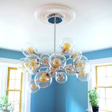 our dining room install ceiling medallion without s medallions