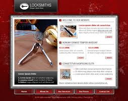 Free Website Template Classy Locks Locksmiths 48 MycroWeb Free Website Templates