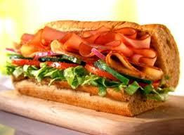 subway turkey and ham sub sandwich provided by eat this not that