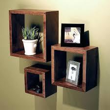 wooden square shelves wood box wall shelves about inspirational home wooden box wall shelves square wood