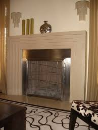 custom stainless steel fireplace screen by cranford collection custommade com