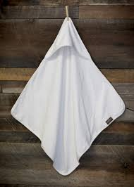 Amazon.com : Organic Terry Cotton Baby Hooded Towel/ Receiving ...