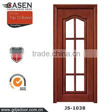 wooden glass door description about
