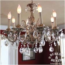 antique crystal chandelier burlap denimburlap denim regarding incredible household antique crystal chandelier ideas