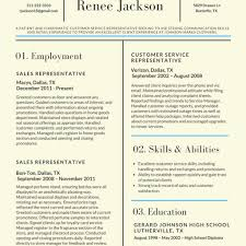 Current Resume Formats Current Resume Styles Template