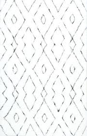 add sophistication and interest with black and white rugs burke decor white and black rug green