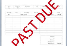 Overdue Account Category Letter Format Free 0 Basilicatanews Info