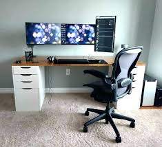 office set up ideas. Office Desk Setup Ideas Computer Cool Lamps  Multi Monitor . Set Up N