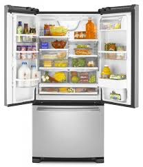 whirlpool gold french door refrigerator. whirlpool gold french doorrefrigerator gx2fhdxvy is a great, inexpensive refrigerator. it great for family up to 3-4 persons. door refrigerator p