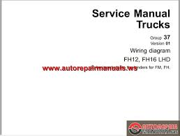 volvo fh12 wiring diagram volvo wiring diagrams collections