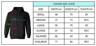 Hoodie Size Chart Joker On Hoodie