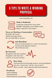 best ideas about writing a business proposal 6 tips to writing a winning proposal by honestliz infographic