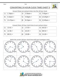 military time conversion 24 hour clock 3 | Crafts | Pinterest | 24 ...