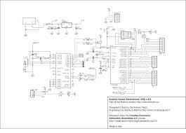 schematics of arduino using atmega8