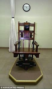 electric chair victim. virginia senators approved a bill allowing death row inmates to be forcibly killed by electric chair victim