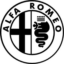 alfa romeo logo black and white. alfa romeo logo large black and white