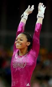 gabby douglas continued american domination of the olympic gymnastics individual allaround winning gold at north greenwich arena vault gabby douglas o41 vault