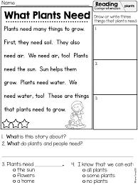 Plants Habitat Worksheets for Grade 1   Homeshealth.info